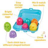 Tomy Toomies Hide & Squeak Bright Chicks image 2