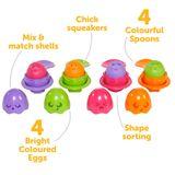 Tomy Toomies Hide & Squeak Egg & Spoon image 2