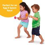 Tomy Toomies Hide & Squeak Egg & Spoon image 4