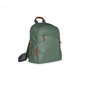 Uppababy Nappy Bag - Green Melange/Saddle Leather (Emmett)