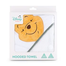 Disney Into The Blooms Pooh Hooded Towel