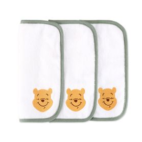 Disney Into The Blooms Pooh Wash Cloth 3 Pack