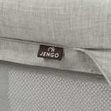 Jengo Travellite Wooden Portacot 2 In 1 - Grey image 6