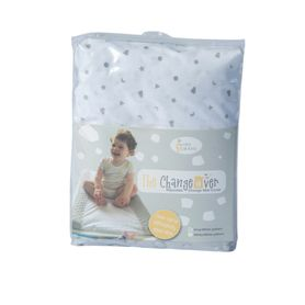 Spotty Giraffe The Changeover Change Pad Cover Grey/White