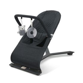 Jengo Relax Bouncer Black Charcoal