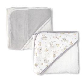 The Little Linen Co Hooded Towel Cheeky Koala 2 Pack