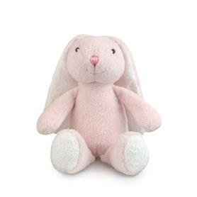 Korimco Frankie & Friends Bunny Rattle Pink