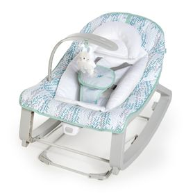 Ingenuity Keep Cozy 3-in-1 Grow with Me Bounce & Rock Seat - Spruce