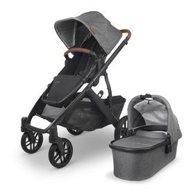 Uppababy Vista V2 - Greyson (Charcoal Mélange/Carbon/Saddle Leather) Greyson