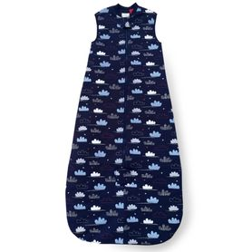 Plum Jersey Sleeping Bag 2.5 Tog Clouds 24-36 Months (Online Only)