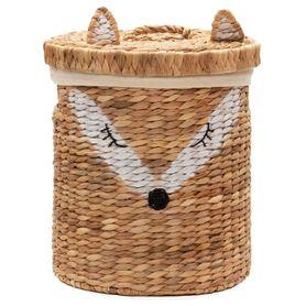 Bilbi Basket With Lid Fox Large