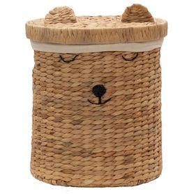 Bilbi Basket With Lid Bear Small