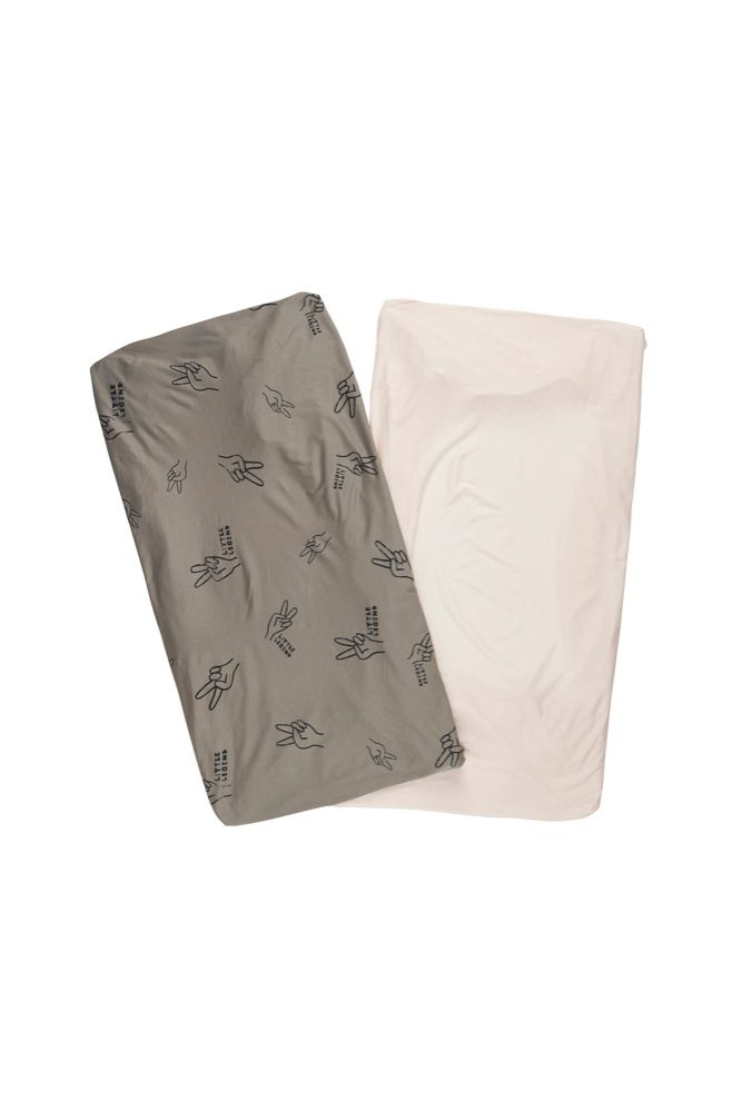 Bonds Jersey Cot Fitted Sheet Little Legend 2 Pack (Online Only)