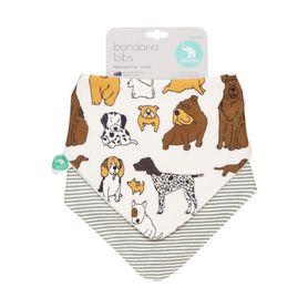 All4Ella Bandana Bib - Dog Breed - 2 Pack