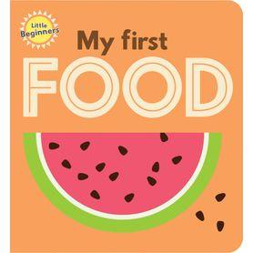 Little Beginners Mini Book - My First Food