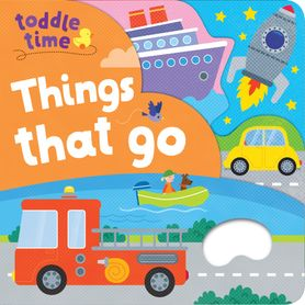 Toddle Time Grab and Hold Board Book - Things That Go