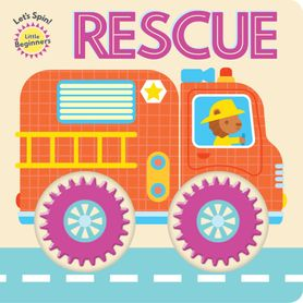 Little Begginers Let's Spin Book - Rescue