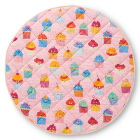Kip & Co Quilted Playmat Cupcakes