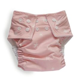 Bilbi Nappy One Size Fits Most - Pink Stars