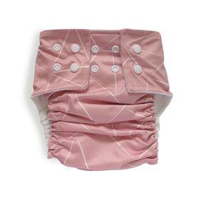 Bilbi Nappy One Size Fits Most - Pink Geo