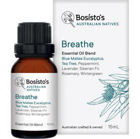 Bosistos Australian Natives Essential Oil Blend - Breathe - 15ml