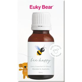 Euky Bear Essential Oil blend - Bee Happy - 15ml