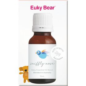 Euky Bear Essential Oil blend - Sniffly Nose - 15ml