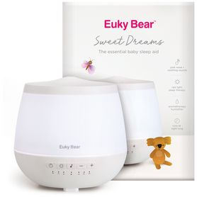Euky Bear Sweet Dreams Sleep Aid - Diffuser and Nightlight