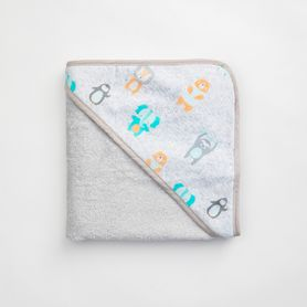 4Baby Hooded Towel Little Friends