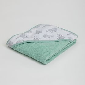 4Baby Hooded Towel Lazy Sloth