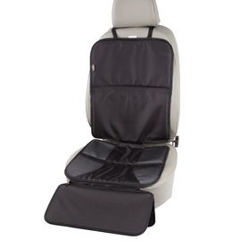 Jengo Protect & Rest Car Seat Protector with Foot Rest Black