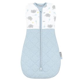 Living Textiles Quilted Swaddle 2.5 Tog Mason 4-12 Months