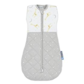 Living Textiles Quilted Swaddle 2.5 Tog Noah 4-12 Months