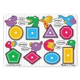 Melissa & Doug Shape Peg Puzzle