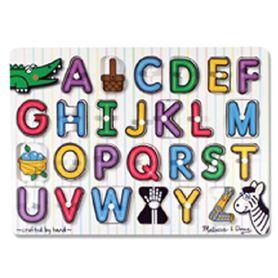 Melissa & Doug Alphabet Peg Puzzle