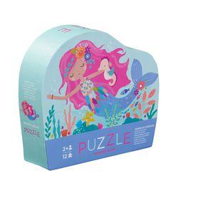 Crocodile Creek 12 Piece Mini Puzzle Mermaid Dreams