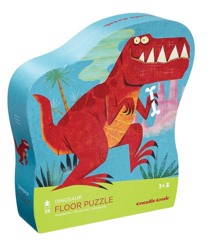 Crocodile Creek 36Pc Floor Puzzle Dinosaur