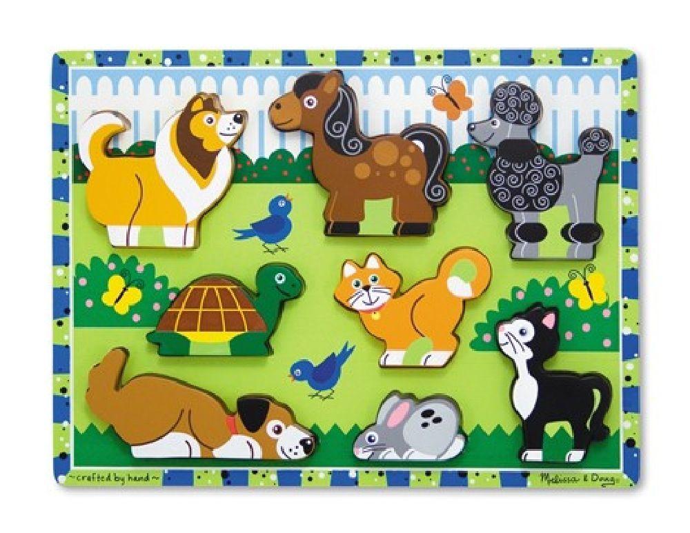 Melissa & Doug Pets Chunk Puzzle