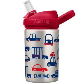 Camelbak Eddy+ Kids Stainless Steel Bottle 400ML Cars & Trucks