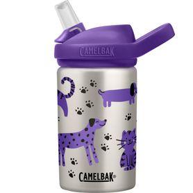 Camelbak Eddy+ Kids Stainless Steel Bottle 400ML Cats & Dogs
