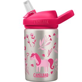 Camelbak Eddy+ Kids Stainless Steel Bottle 400ML Unicorn & Blooms