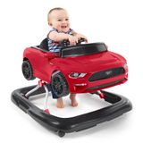 Bright Starts Ford Mustang 3 Ways to Play Walker - Red image 8