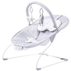 4Baby Snuggle Baby Bouncer Grey