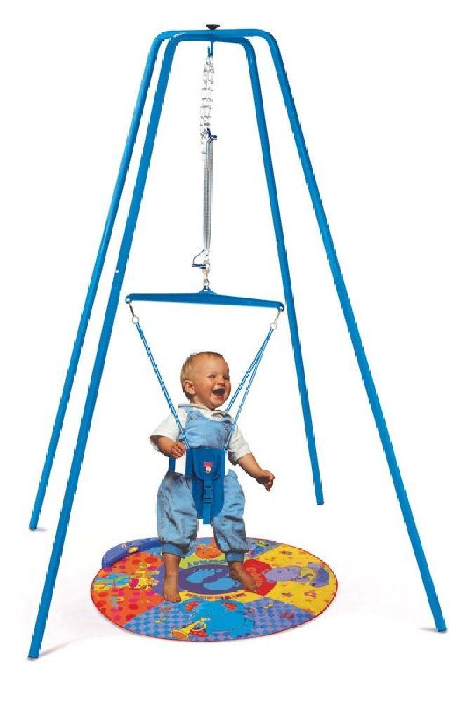 Jolly Jumper Bouncer & Stand Set - Blue