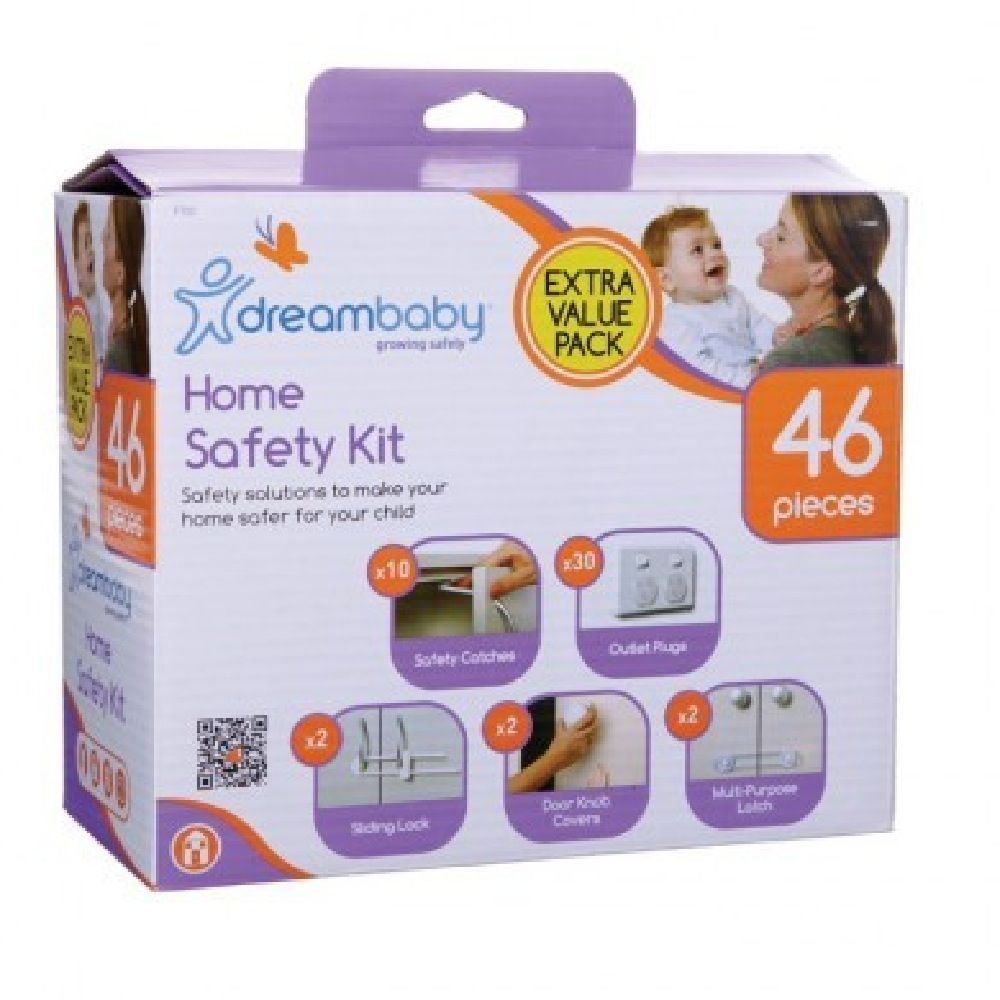 Dreambaby Home Safety Pk 46pc