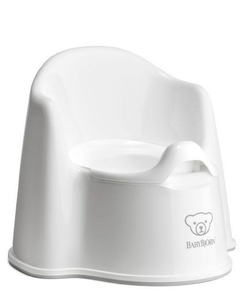 BabyBjorn Potty Chair White/Grey image 0