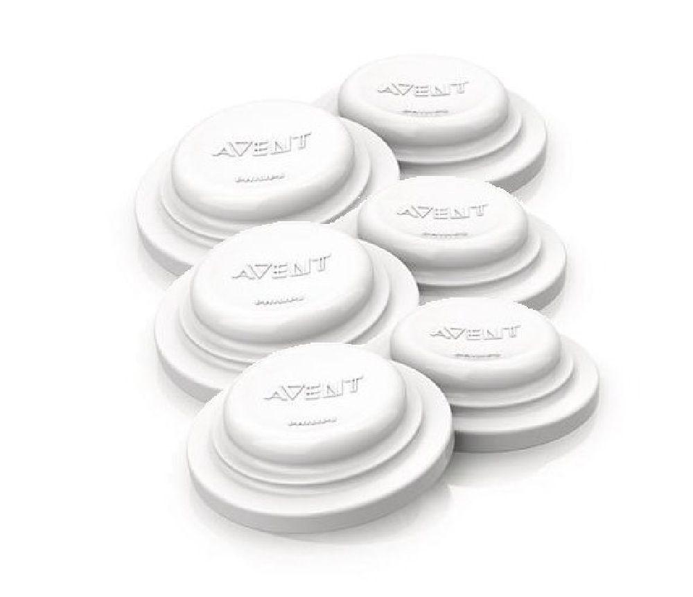 Avent Bottle Sealing Disks - 6 Pack image 0