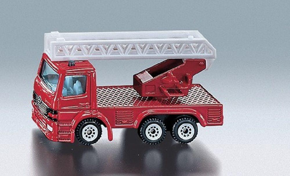 Siku Fire Engine with Ladder image 0