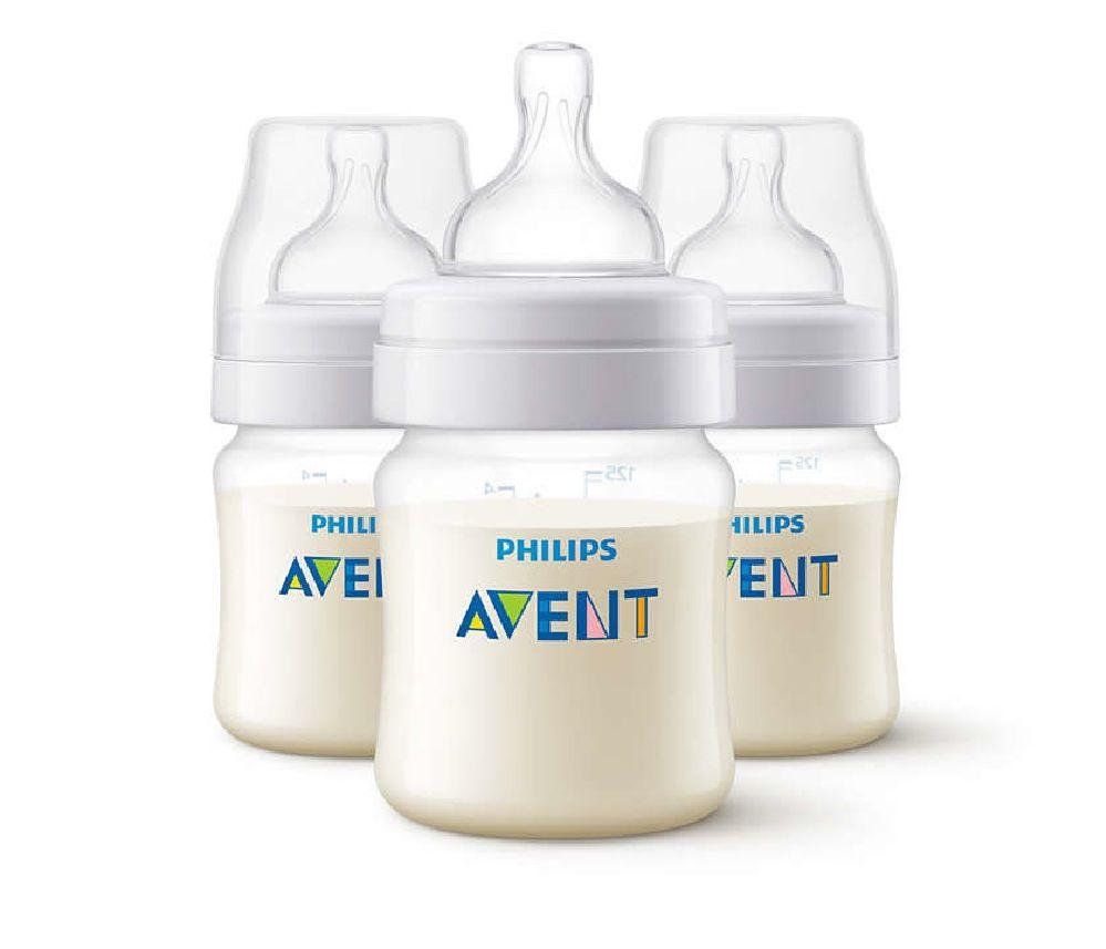 Avent Anti Colic Bottle - 125ml - 3 Pack image 0