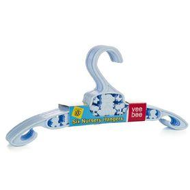 Valco Baby Hanger Blue 6 Pack